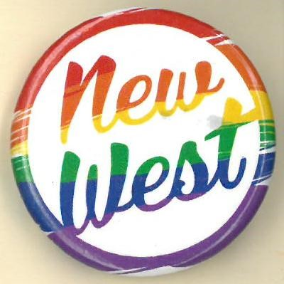Cover image of New West. Button.