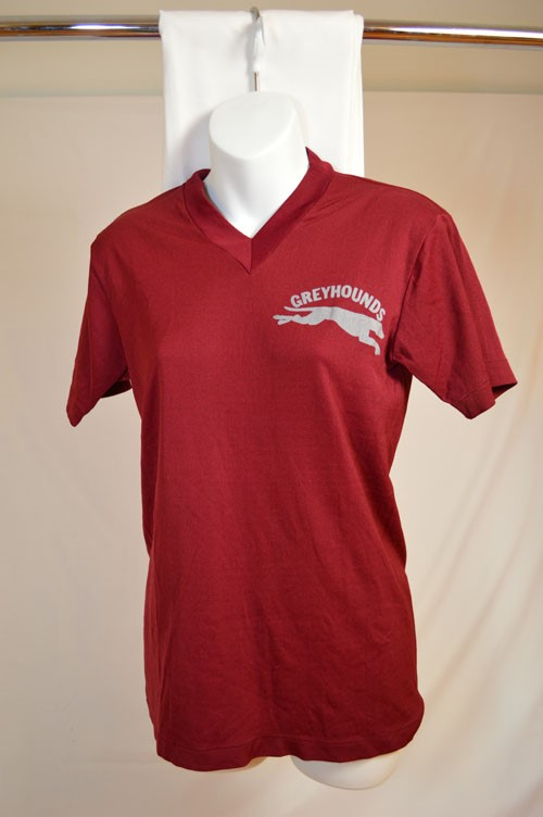Cover image of Front; Greyhounds: Reverse; 17. T Shirt.