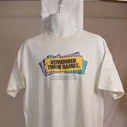 Cover image of Remember Their Names. The Names Project Quilt Washington DC . Oct. 7-10, 1988. T Shirt.