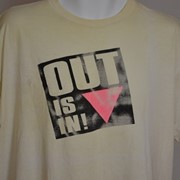 Cover image of OUT IS IN !. T Shirt.