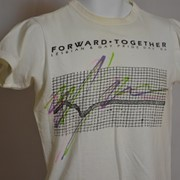 Cover image of Forward - Together Lesbian & Gay Pride Day '86. T Shirt.