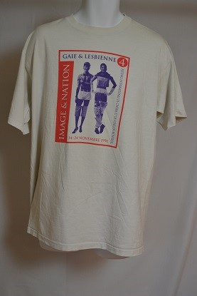 Cover image of Image & Nation Gaie & Lesbienne  4 Festival International De Cinema et De Video De Montreal 14-24 Novembre 1991. T Shirt.