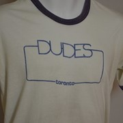 Cover image of Dudes. T Shirt.