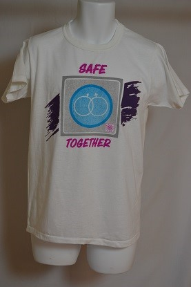 Cover image of Safe Together. T Shirt.