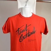 Cover image of Fruit Cocktail April 24 and 25, 1983 RyersonTheatre Toronto. T Shirt.