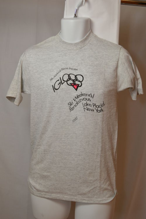Cover image of 8th Annual/8eme Annee Igloo Ski Weekend/ Rendez-vous Lake Placid New York 1992. T Shirt.
