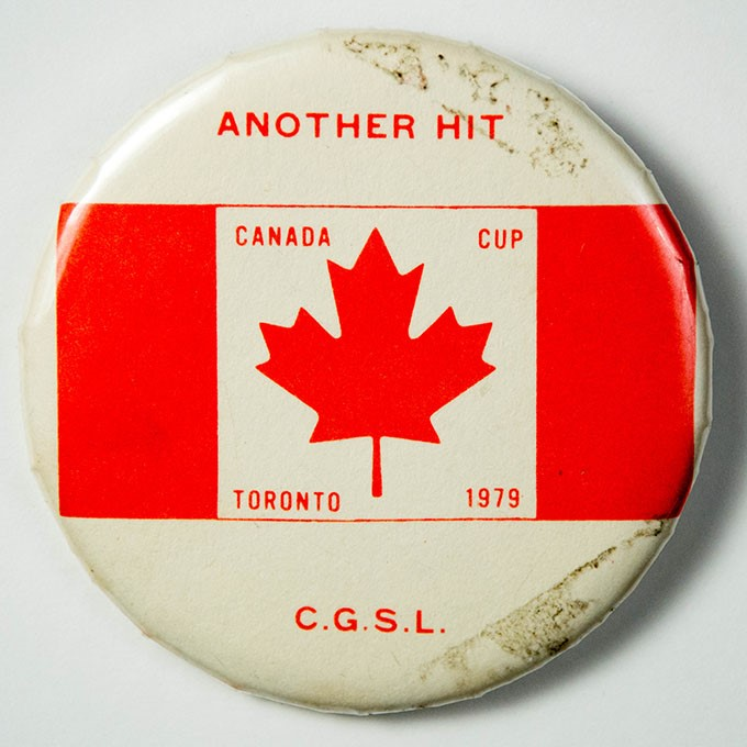 Cover image of Another hit Canada Cup Toronto 1979 C.G.S.L.. Button.