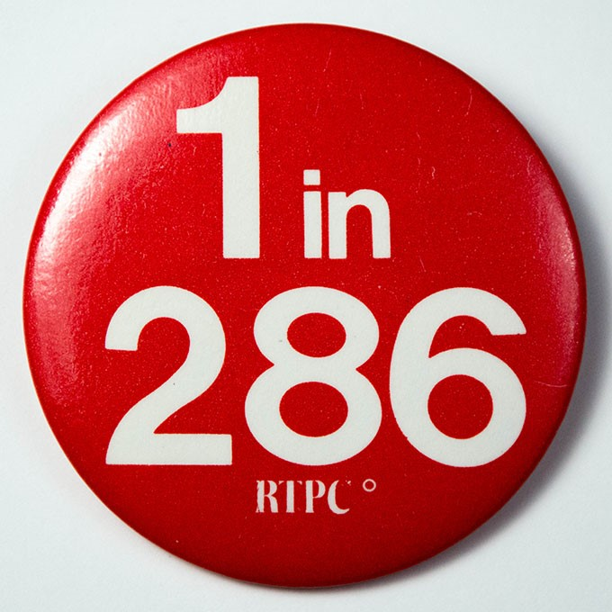 Cover image of 1 in 286 RTPC. Button.